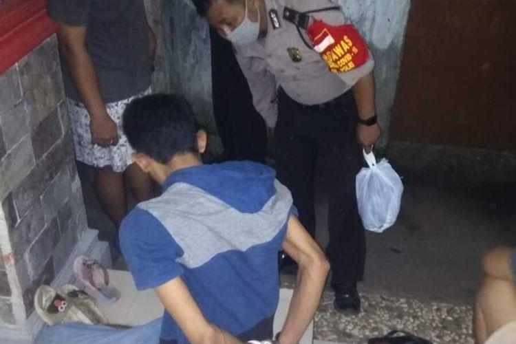 YI saat dinamakan korban di rumahnya,  Ciracas, Jakarta Timur, Selasa (14/7/2020)
