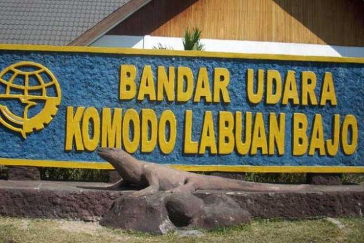Bandara Komodo di Labuan Bajo, Kabupaten Manggarai Barat, Nusa Tenggara Timur.