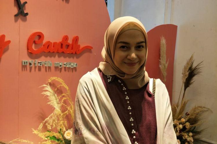 Nina Zatulini saat ditemui di kawasan Kemang, Jakarta Selatan, Rabu (20/11/2019).
