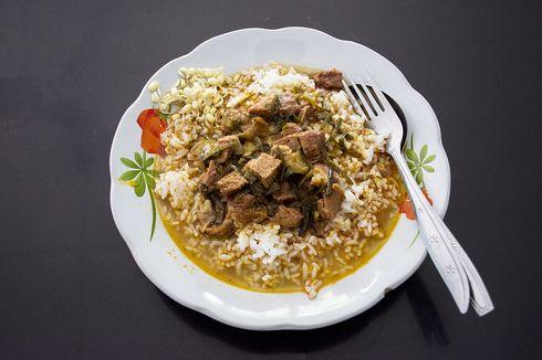 Minggu Malam, Ada 50.000 Porsi Makanan Gratis di Depan Gedung Grahadi Surabaya