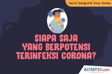 SERIAL INFOGRAFIK VIRUS CORONA: Siapa Saja yang Berpotensi Terinfeksi Covid-19