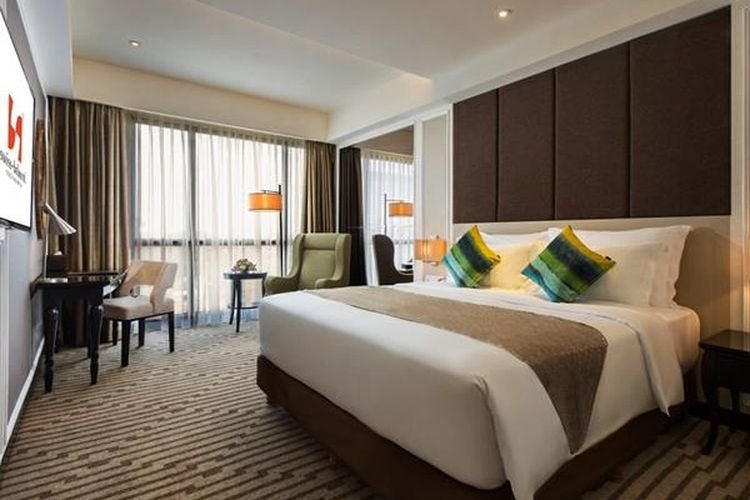 Hotel di sekitar Malioboro - Kamar tipe Deluxe di Swiss-Belboutique Yogyakarta, Yogyakarta.