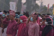 Upacara HUT ke-62 Riau di Tengah Kabut Asap Karhutla, Peserta Pakai Masker