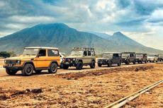 Touring Mercy G-Class Berakhir di Baluran