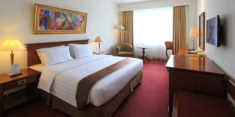 Hotel di Kota Bogor - Kamar tipe Superior di Hotel Salak The Heritage, Kota Bogor, Jawa Barat.