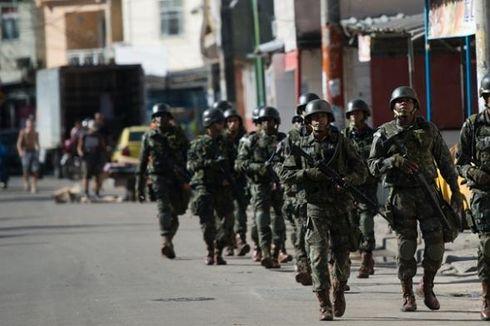 Jelang Piala Dunia, Tentara Brasil Duduki Permukiman Kumuh