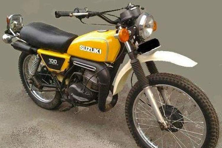 Suzuki TS100, motor trail jadul yang masih diburu