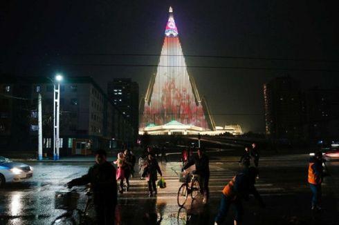 Ryugyog, Hotel Terbengkalai yang Disulap Jadi Arena Pertunjukan Cahaya