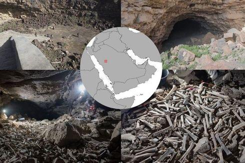 Ratusan Ribu Tulang Hewan dan Manusia Ditemukan dalam Gua di Arab Saudi, Peneliti Takjub Kondisinya Baik