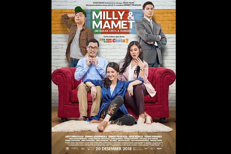 Poster film Milly dan Mamet (2018). Tayang mulai (20/10/2020) di Netflix.