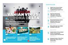 [POPULER TREN] Gejala Terinfeksi Varian Delta | Foto Viral Istri