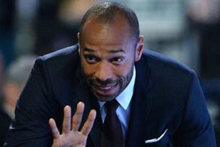 Mantan striker Arsenal, Thierry Henry.