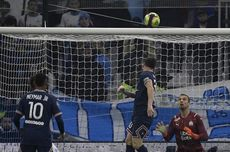 Hasil Marseille Vs PSG - Hakimi Kartu Merah, Messi dkk Buntu Tertahan