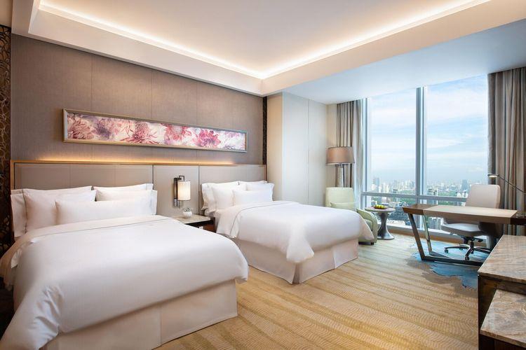 Ilustrasi Hotel - Tipe kamar Twin Room di The Westin Jakarta.