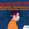 INFOGRAFIK: Kondisi Kesehatan yang Tingkatkan Risiko Kena Covid-19