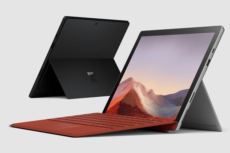 Ilustrasi Surface Pro 7