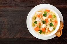 Resep Sup Ayam Tinggi Kalsium, Makanan untuk yang Kurang Sehat