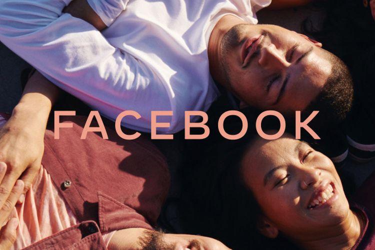 Ilustrasi logo baru Facebook