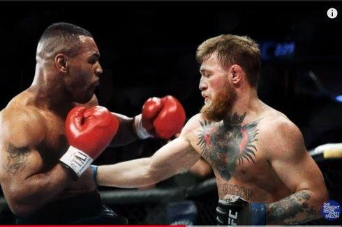 Reaksi Conor McGregor Usai Mike Tyson Sentil Bakal Menghajarnya