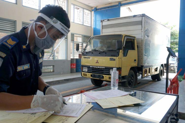Ilustrasi uji KIR di wilayah Jawa Tengah yang menerapkan protokol kesehatan.