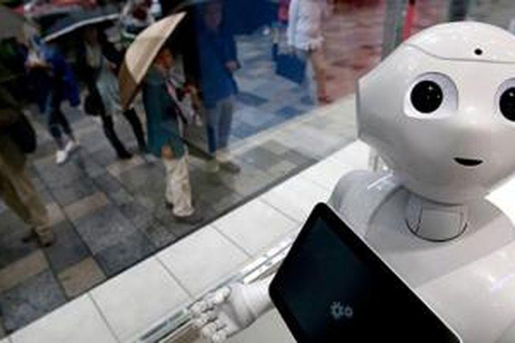 Tampilan robot Pepper