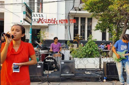 Akustik Kota Tua, Wadah Turis Karaoke Dadakan di Kota Tua Jakarta