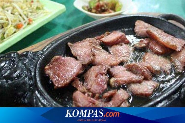 Ilustrasi sei daging sapi khas NTT.