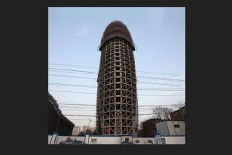 Presiden China, Xi Jinping mengritik keras bentuk arsitektur karya Rem Koolhaas, yakni markas besar CCTV Tiongkok.