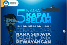 Siswa, Ini Nama Kapal Selam Milik TNI AL Selain KRI Nanggala-402