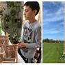 Bocah 12 Tahun Bikin Menara Stik Es Krim Tertinggi di Dunia