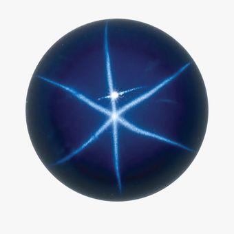 Ilustrasi batu safir bintang