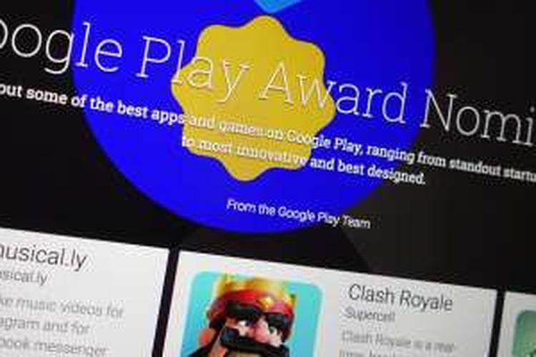 Google merilis daftar aplikasi yang mendapatkan penghargaan dari mereka pada 2016