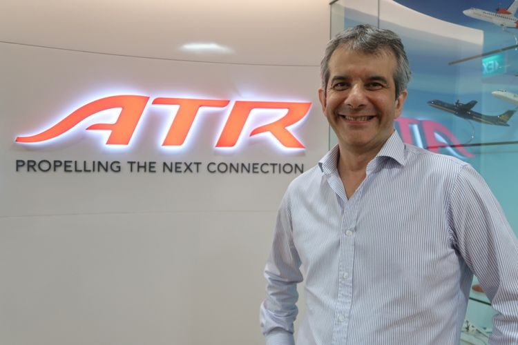 Pierre-Marie Putard, Airline Marketing Manager ATR Aircraft.