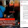 Viral Bajing Loncat Hendak Mencuri di Mobil Pengiriman Barang, Malah Dikurung dan Dibawa ke Kantor Polisi