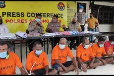Bentangkan Bintang Kejora, 6 Orang Jadi Tersangka Makar, Polisi Temukan Selebaran Republik West Papua Nugini