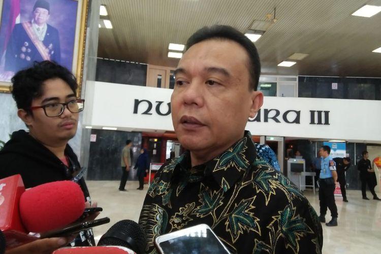 Wakil Ketua Umum Partai Gerindra Sufmi Dasco Ahmad di Kompleks Parlemen, Senayan, Jakarta, Jumat (7/2/2020).