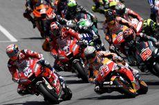 MotoGP Catalunya, Momen Rider Honda Buat Jatuh Rossi dan Vinales
