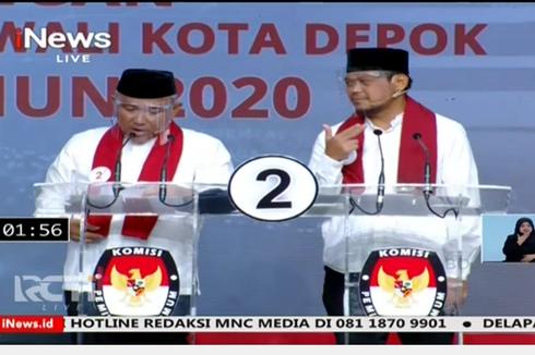 KPU Depok Tetapkan Idris-Imam Wali Kota dan Wakil Wali Kota Terpilih