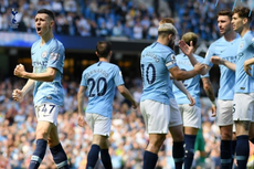 Hasil Manchester City Vs Tottenham, Aguero Cs ke Puncak Klasemen