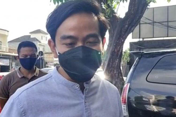 Calon wali kota Solo Gibran Rakabuming Raka di Solo, Jawa Tengah, Rabu (23/9/2020).