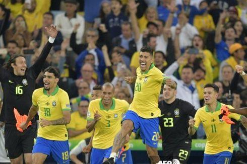 Hasil Brasil Vs Bolivia - Firmino Brace, Tim Samba Pesta Gol