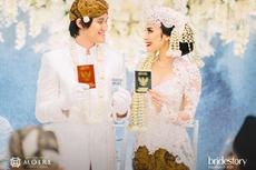Pesan Presiden Jokowi di Hari Pernikahan Kevin Aprilio dan Vicy Melanie