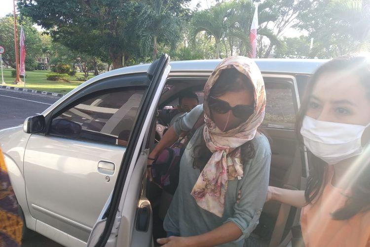Sara Connor, pelaku pembunuh polisi di Bali dideportasi, Jumat (17/7/2020).