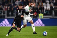 Hasil Juventus Vs Sassuolo, Bianconeri Takluk 1-2 Secara Dramatis