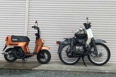 Modifikasi Honda C70, Menyusut dan Bermesin Ganda
