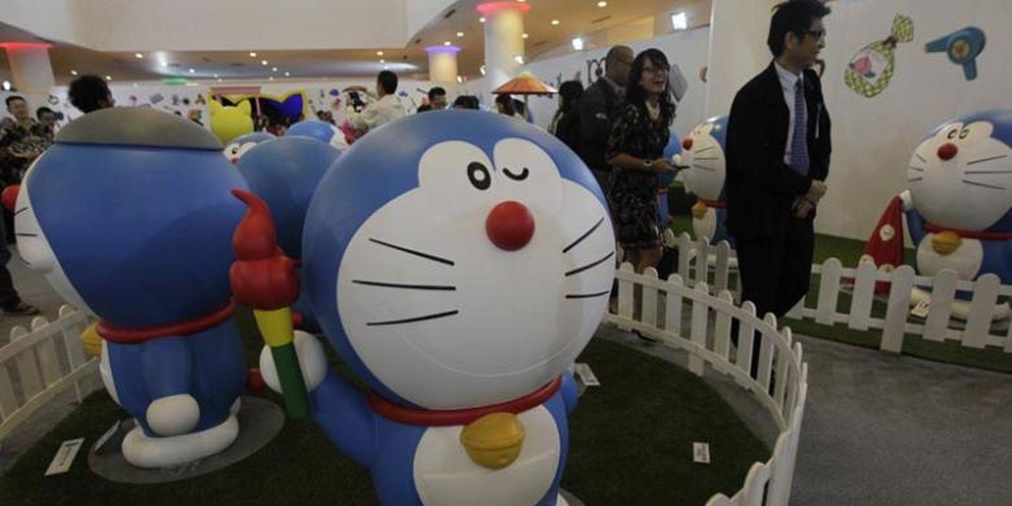 Koleksi 64 Gambar Animasi Doraemon Pegang Terbaik Gambar