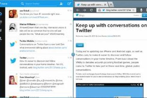 Twitter Khusus Tablet Android Eksklusif untuk Galaxy Note