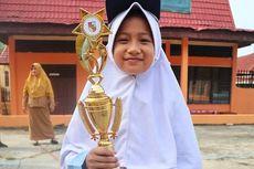 Cerita Siswi Disabilitas Juara 2 Kompetisi Olahraga Tolak Peluru di Riau