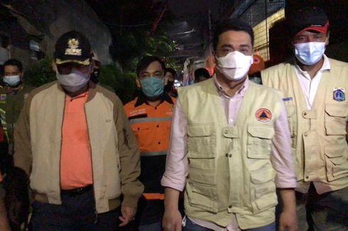 Wagub DKI Pastikan Kebutuhan Korban Kebakaran di Taman Sari Terpenuhi