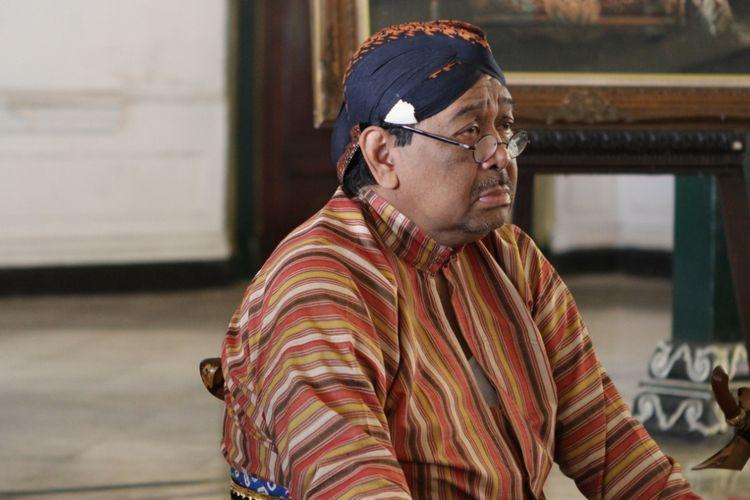 KGPH Hadiwinoto saat berkegiatan di lingkungan Keraton Yogyakarta